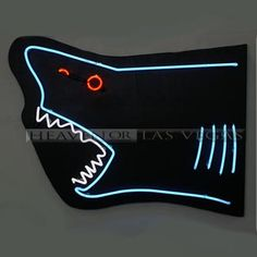 neon sign tropical fish 26