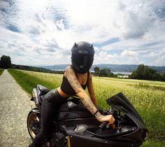 WEBSTA @ miisses_black - GOOOOD MOOORNING GUYS !!! RIDE SAFE MY FRIEND  ------------------------------------------------------------------#love #bike #couplegoals #moto #motorbike #motorcycle ------------------------------------------------------------------Made by @blackforestrider