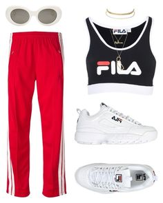 """""""Untitled #318"""" by uraveragestyle ❤ liked on Polyvore featuring Fila, Charlotte Russe, Étoile Isabel Marant and Acne Studios"""