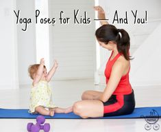 A fun way to introduce kids to yoga!