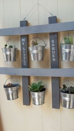 Love succulents they are so cute and different. I got some new ones from home depot and decided to make this hanging little garden.[media_id:3364606]After san…