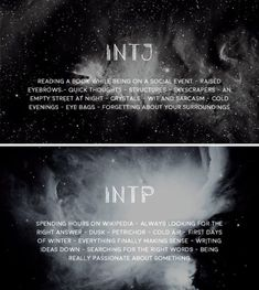 Intp and intj Intp Personality Type, Personality Psychology, Myers Briggs Personality Types, Personality Quotes, Psychology Quotes, Myers Briggs Intp, Intj Women, Intj And Infj, Fandom