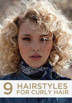 Short curly hair-perm