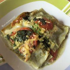 Julia Haeuszl: Spinat-Lasagne