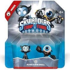Skylanders Trap Team: Hijinx & Eye Small - Mini Character 2 Pack, New, Free Ship Monster High Party, Ninja Turtle Party, Skylanders Trap Team Figures, Evil Minions, Secret Code, Toy 2, Christmas Presents, Trading Cards, Party Supplies