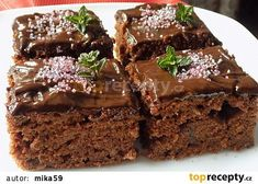 Food News, Best Restaurants, Cooking Tips & Tricks, Easy Recipes, Quick Meals and New Drinks Czech Recipes, New Recipes, Sweet Recipes, Cooking Recipes, New Cooking, Sweet Cakes, Coffee Cake, Quick Meals, Sweet Treats