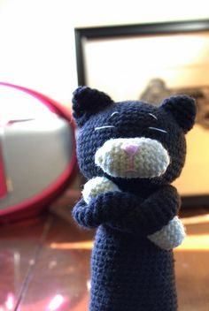 Oh the Cuteness!: Amineko Amigurumi Cat Pattern ~  Adorable, positionable, and super fun to make!