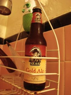 I run for the shower beer.