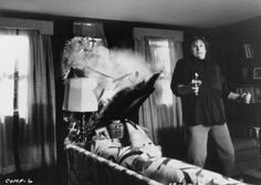 Gary Busey in Silver Bullet Tom Skerritt, The Dead Zone, Mary Lambert, John Lithgow, Pet Sematary, Cinema, Night Terror, Half Man, Danse Macabre