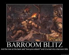"And the elf in the corner said, ""Boy, I wanna warn ya, it'll turn into a barroom blitz!"""