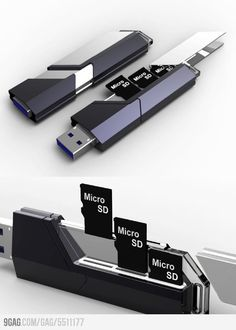 If you're like me you probably have a few of those Micro SDs laying around... Collector USB Flash Drive
