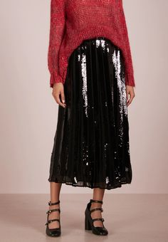 TWINSET GONNA - Gonna lunga - nero - Zalando.it Lace Skirt, Skirts, Shopping, Fashion, Moda, La Mode, Skirt, Fasion
