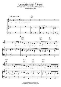 Zaz: Paris, L'après-Midi - Partition Piano Voix Guitare (Mélodie Main Droite) - Plus de 70.000 partitions à imprimer !