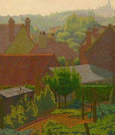 Early Morning - Charles Ginner