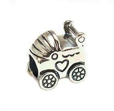 Pandora S925 Silver Baby Carriage Pram Charm fits Biagi Troll 790346 Listing in the Metal,Big Hole Beads,Charms & Charm Bracelets,Fine Jewellery,Jewellery & Watches Category on eBid United Kingdom