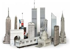Buildings - Papercraft4u | Free Papercrafts, Paper Toys, Paper Models, Gratis  Build Your Own New York City