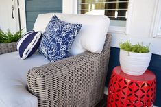 The Wyatt Outdoor Collection - Twisted to withstand nature's elements, Wyatt pieces are structured on an aluminum frame and topped with worry-free Sunbrella® and Outdura® cushions for year round entertaining.