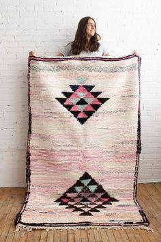 Pastel Moroccan Rug,