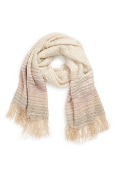 BP. Ombré Stripe Scarf (Juniors) available at #Nordstrom