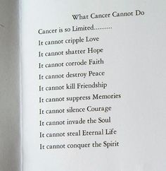 cancer quote