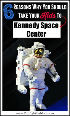 Visiting Kennedy Space Center with Kids.  Have you been to Kennedy Space Center lately?  This post shows you 6 great things to do at Kennedy with kids and preschoolers the next time you go.  It's hands-on learning at it's best!