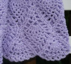 Crochet Baby Dress...  Lavender ...READY TO SHIP ... 3  6