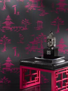 Create #Modern# interiors with #wallcoverings, #fabrics, #carpets and #flooring for the #hospitality and #commercial sectors. Wallcovering #Phillip Jeffries, #Chinois Our Way