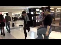Dabke flash mob in Beirut airport. This is the real way to dance Lebanese!