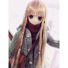 โมโมะไปเยี่ยมร้านพี่เตย #azone #himeno #pureneemo #excute #doll | by guitaroska