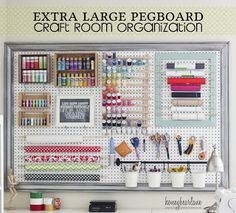Pegboard:  You can paint it any color you like. Add it everywhere, hang everything on it.