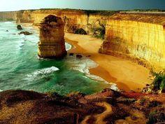 Скалы 12 апостолов, Виктория, Австралия