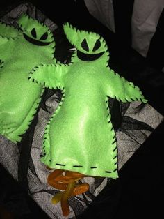 Oogie Boogie treat bags / nightmare before christmas decorations and treats
