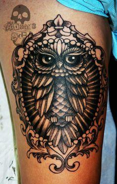 Body Piercing, Owl, Skull, Tattoos, Artist, Tatuajes, Owls, Tattoo, Artists