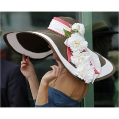 derby hat...love the style of the hat except I want an all black one