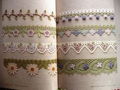 Crochet Edging and Braid Book  ISBN978-4-02-190432-5 or 4021904325