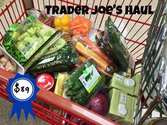 Favorite food items from Trader Joe's from Carrie on Vegan | www.carrieonvegan.com