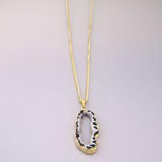 #druzy #chain #Necklace #goldfill #sayulitasol #jewelry