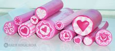 beautiful heart canes....
