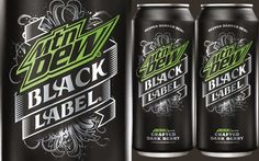 PepsiCo extends Mountain Dew range with Mtn Dew Black Label