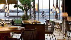 restaurant Pez Vela (Paseo del Mare Nostrum 19/21 ; au pied du W Hotel sur la plage de la Barceloneta)