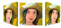 Retrato, portrait, Angelina