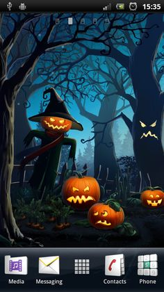 Halloween Free Live Wallpaper