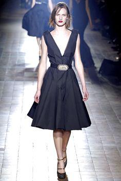Lanvin Fall 2013 Ready-to-Wear Fashion Show - Kati Nescher (Viva)