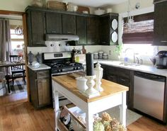 Tablescape, Holding, Kitchen Design, Country Kitchens, Cottage Style