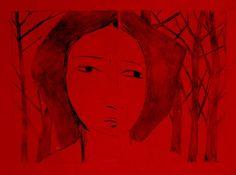 "Saatchi Art Artist silvana soriano; Printmaking, ""innocence - Limited Edition, 2 of 5"" #art"
