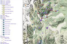 Torres del Paine Map  #Travel #Patagonia #TorresdelPaine