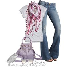 lavender Balenciaga bag, created by stacy-gustin on Polyvore