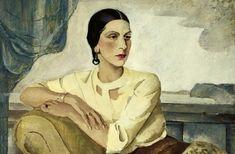 Portrait of a Seated Woman Artist: Boris Dmitrievich Grigoriev (Russian, Date: early century Russian Art, Art Drawings, Drawing Illustrations, Painting, Female Art, Woman Painting, Art, Portrait Painting, Portrait Art