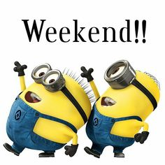 Happy #weekend #minions #friends !!