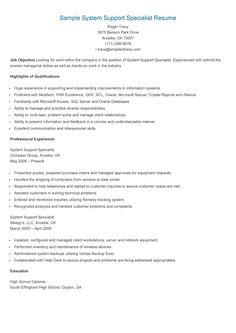 sample provider enrollment specialist resume resame